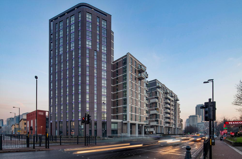 The first phase of works at Blackwall Reach included the demolition of the iconic, but desperately run-down Robin Hood Gardens, a seminal brutalist housing development by Alison and Peter Smithson. The new development includes 98 homes in buildings up to 14 storeys, a community centre, a mosque and new offices.