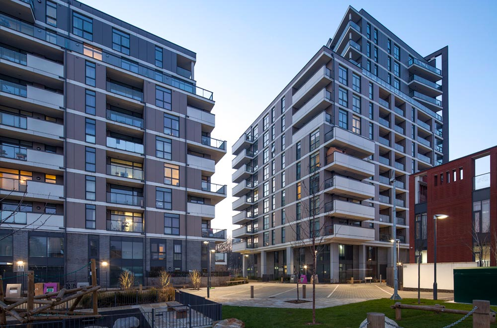 The masterplan energy strategy required all phases to be linked to a main energy centre and we worked closely with the district heating network operators to ensure all requirements and standards were met, ensuring an efficient and cost-effective design.
