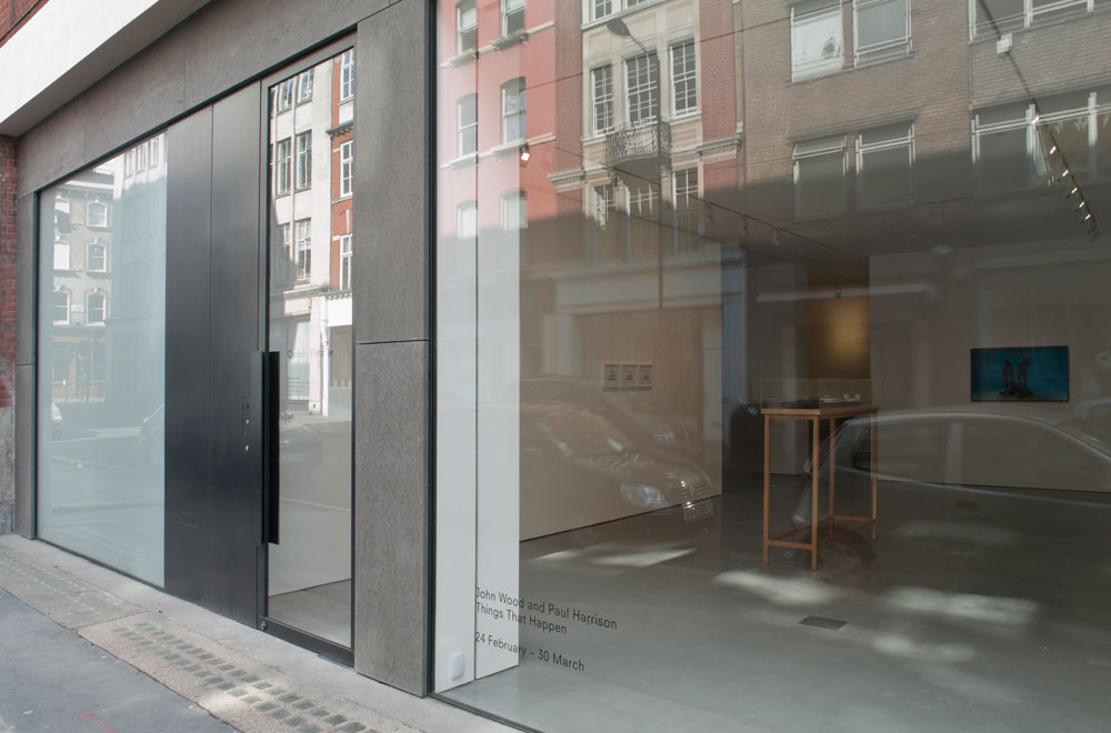 The Carroll / Fletcher Gallery is a new commercial art gallery located within a Westminster conservation area in Fitzrovia. The gallery is a substantial re-working of a former commercial premises, involving a new facade to the street and cast in situ concrete stair connecting to a deep basement. The gallery provides flexible space, adaptable to changing gallery exhibitions.
